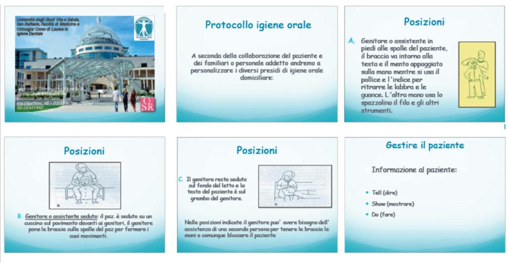 fig. 1 Alcune slide della presentazione proposta.
