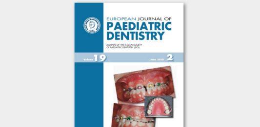 european Journal of Paediatric Dentistry