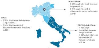 Distribuzione geografica degli elementi analizzati.