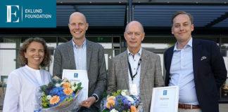 Jan Derks e Tord Berglundh dell'Istituto di Odontoiatria dell'Università di Göteborg in Svezia